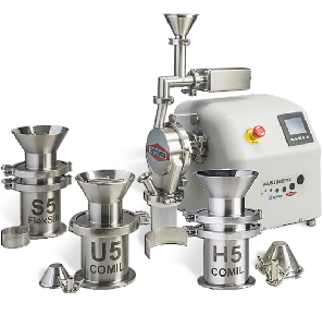 The SLS with 5 milling solutions for consistant Particle Size Distribution