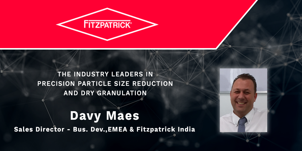 Find out more about our expert in roll compaction and dry granulation
