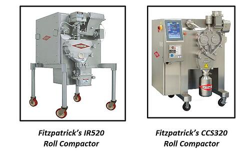Roller compaction machines